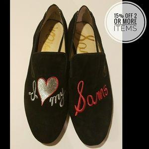 Sam Edelman Kelso Black Loafers Women's Size 6.5